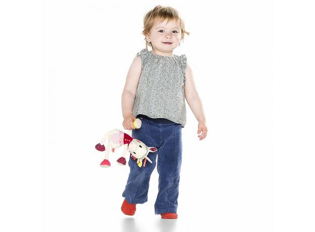 Мягкая игрушка в подарочной упаковке Lilliputiens «Единорожка Луиза», фото , изображение 2