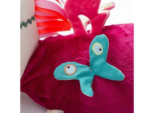 Развивающая игрушка-валик Lilliputiens «Единорожка Луиза», фото , изображение 3