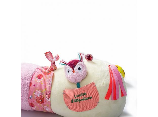 Развивающая игрушка-валик Lilliputiens «Единорожка Луиза», фото , изображение 4