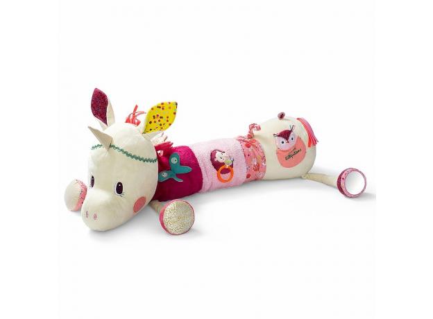 Развивающая игрушка-валик Lilliputiens «Единорожка Луиза», фото