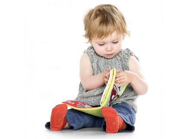 Развивающая книжка про кролика Селестина, зубного врача Lilliputiens, фото , изображение 2