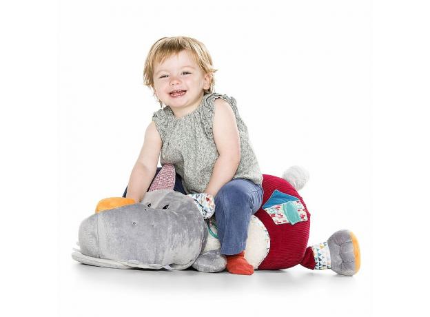 Большая развивающая игрушка Lilliputiens «Волк Николас», фото , изображение 2