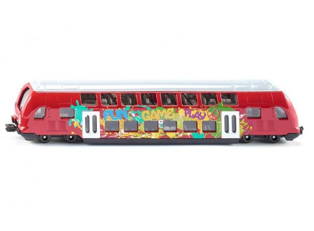 SIKU Двухэтажный поезд 1791, фото
