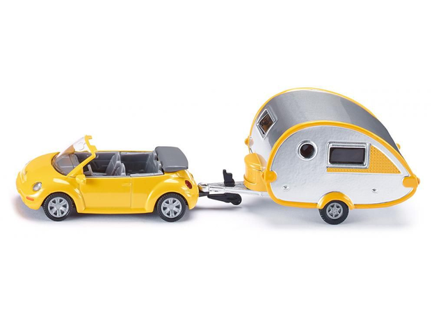 SIKU Машина с домом на колесах, мини 1629, фото