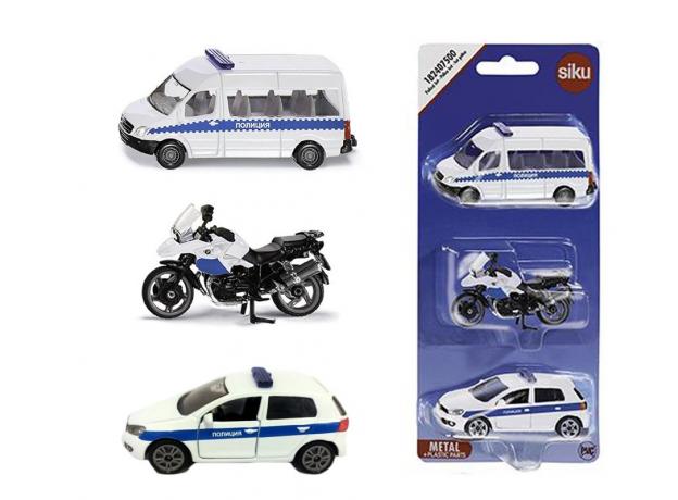 SIKU Набор машинок Полиция 1824RUS, фото