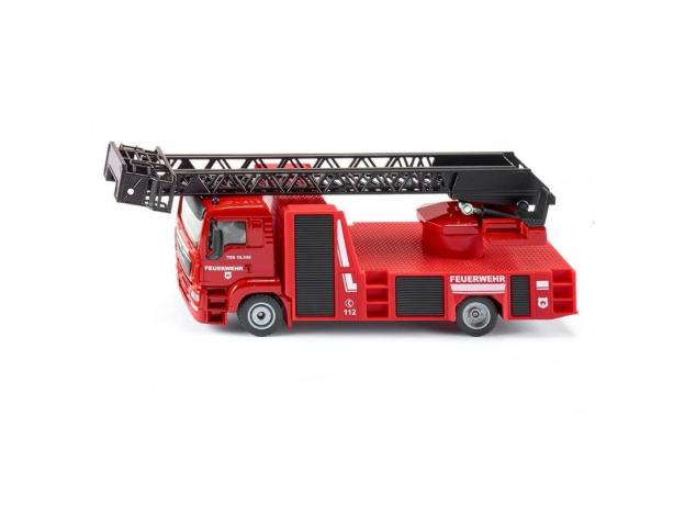 SIKU Машина Пожарная с поворотной лестницей MAN 2114, фото