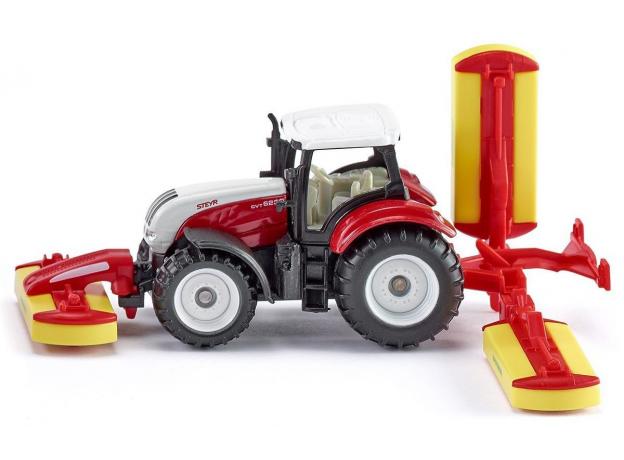 SIKU Трактор с косилками 1672, фото