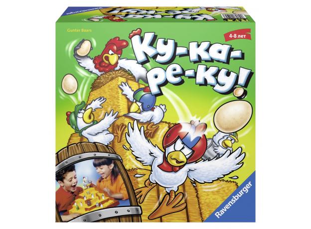 "RAVENSBURGER Настольная игра ""Ку-ка-ре-ку!"" 21104, фото"