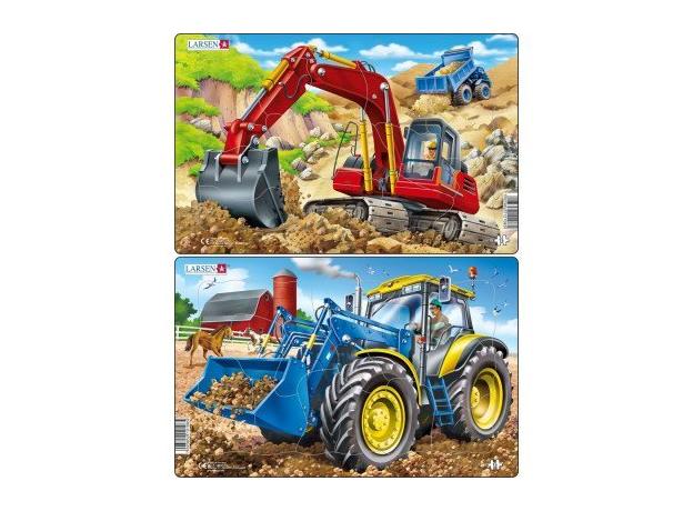 LARSEN U19 - Трактор и экскаватор U19, фото