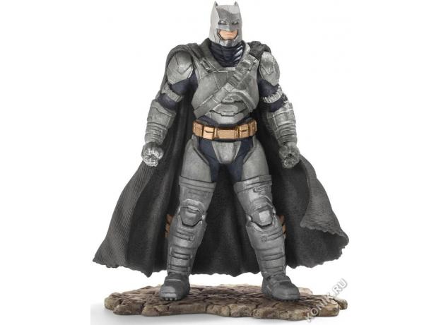SCHLEICH Герой комиксов, Бэтмэн (Бэтмэн и Супермэн) (прикреплён к опорной подставке) 22527, фото