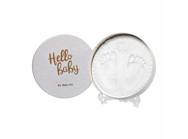 Коробочка для создания отпечатка «Мэджик бокс» круглая Baby Art; медный орнамент, фото