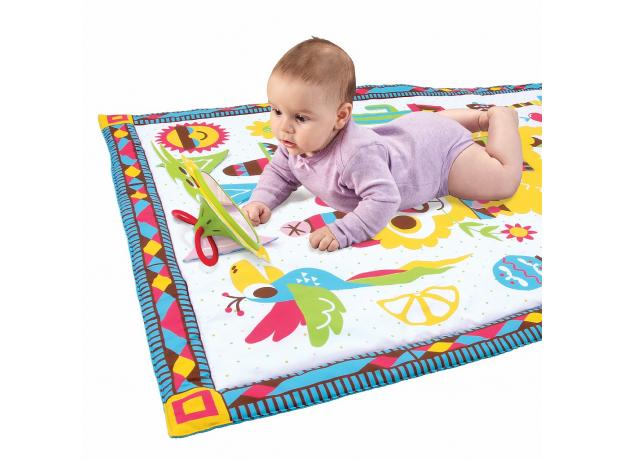 Развивающий коврик-сумка Yookidoo XL «Фиеста», фото , изображение 3