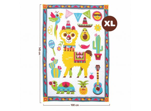 Развивающий коврик-сумка Yookidoo XL «Фиеста», фото , изображение 4