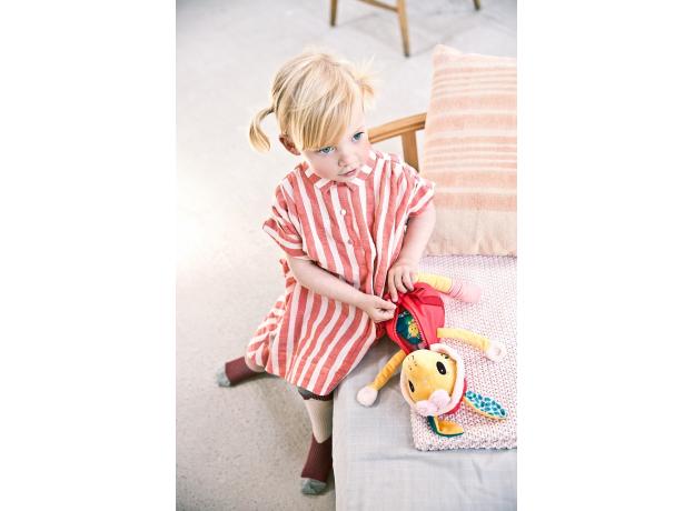 Развивающая игрушка Lilliputiens «Жирафик Зиа»; серия «Одень меня!», фото , изображение 10