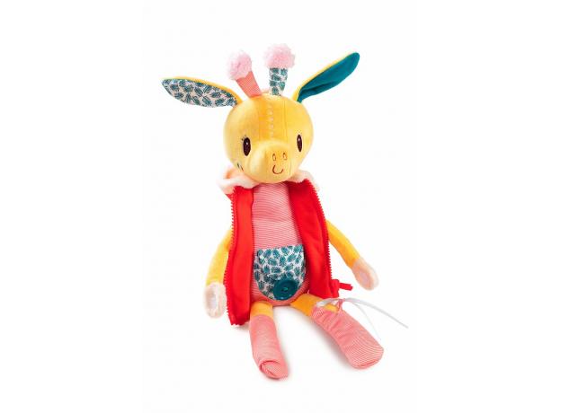 Развивающая игрушка Lilliputiens «Жирафик Зиа»; серия «Одень меня!», фото