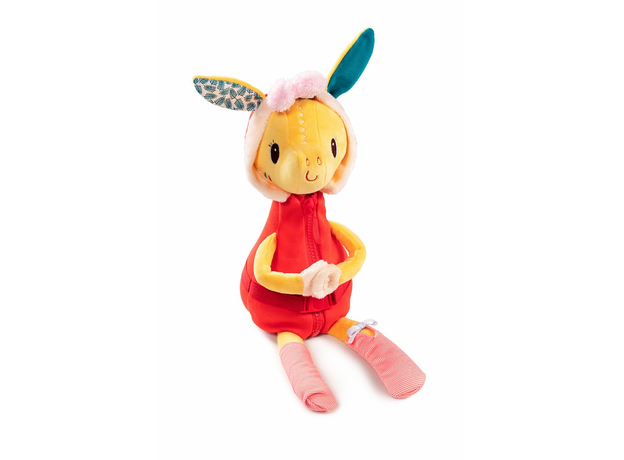 Развивающая игрушка Lilliputiens «Жирафик Зиа»; серия «Одень меня!», фото , изображение 2