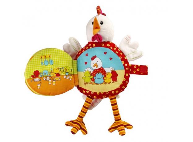 Книжка-игрушка Lilliputiens «Курочка Офелия», фото , изображение 4