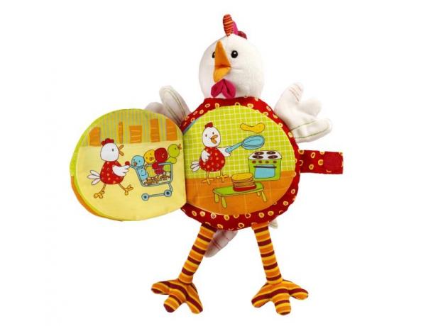 Книжка-игрушка Lilliputiens «Курочка Офелия», фото , изображение 5