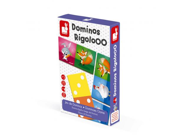 Настольная игра домино Janod «Веселые животные», фото , изображение 5