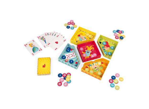 Игра настольная Janod карточная «Желтый карлик», фото