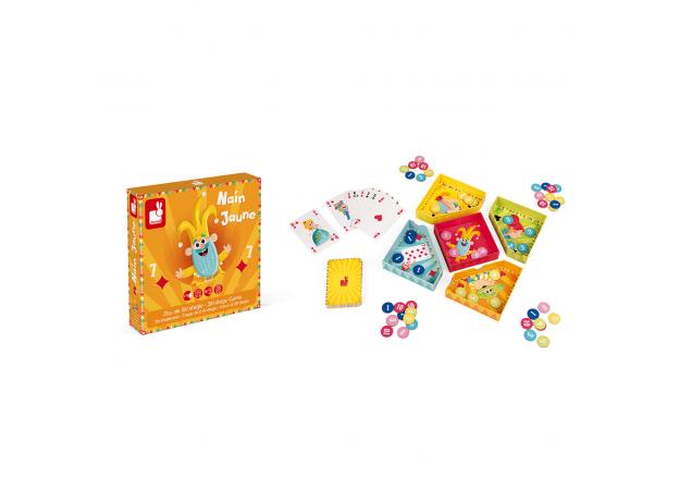 Игра настольная Janod карточная «Желтый карлик», фото , изображение 2