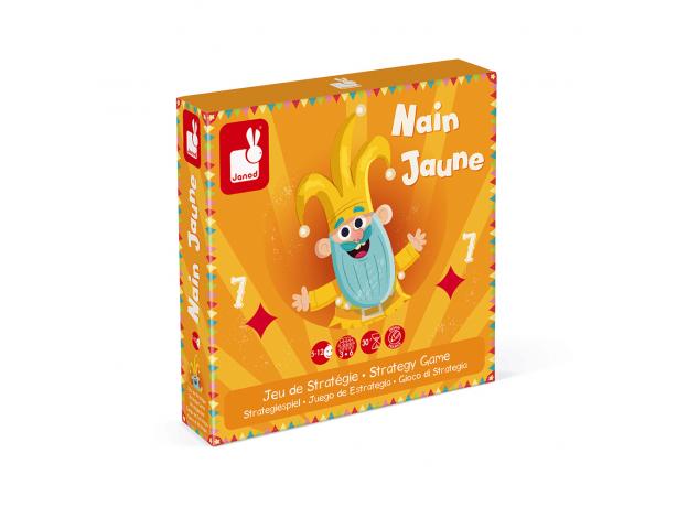 Игра настольная Janod карточная «Желтый карлик», фото , изображение 3