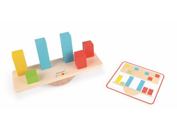 Настольная игра на баланс janod «Веса», фото , изображение 3