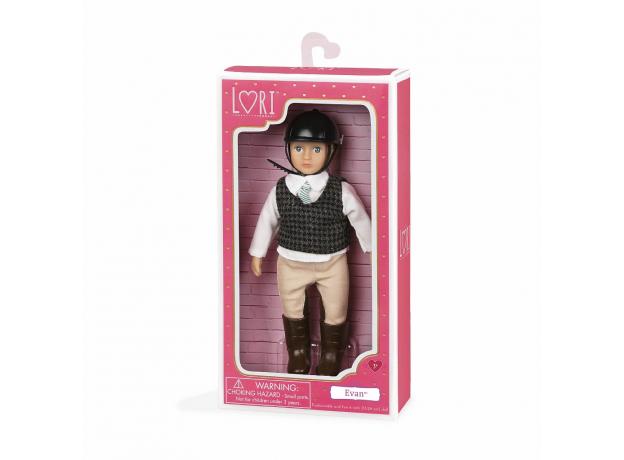Кукла 15 см Lori Эван, наездник, фото , изображение 2