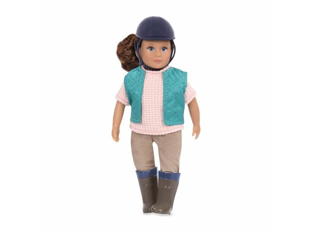 Кукла 15 см Lori Лоралай, наездница, фото