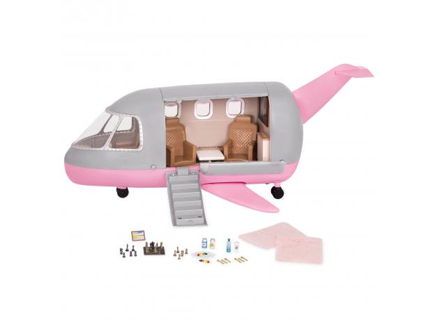 Игровой набор Lori «Самолёт» с аксессуарами, фото , изображение 2