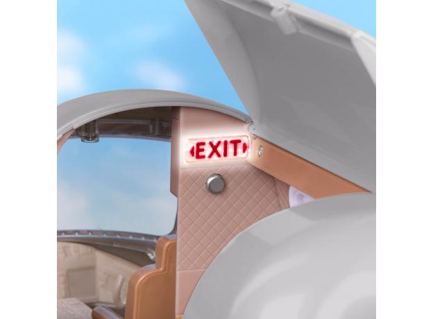 Игровой набор Lori «Самолёт» с аксессуарами, фото , изображение 3