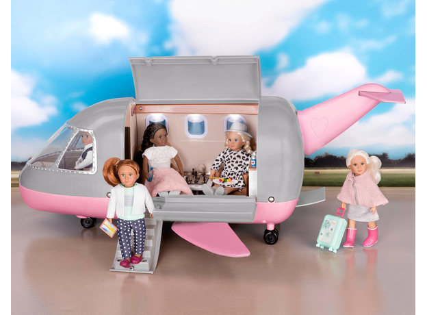 Игровой набор Lori «Самолёт» с аксессуарами, фото