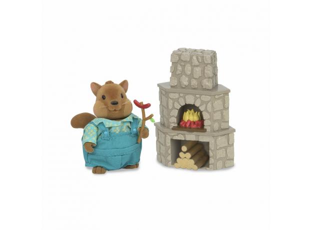 Набор мебели игровой Li'l Woodzeez «Дворик с камином», фото , изображение 3