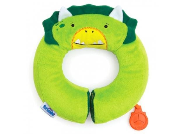 TRUNKI Подголовник Yondi Dino зеленый 0144-GB02, фото