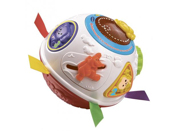 VTECH Вращающийся и обучающий разноцветный мяч 80-151566, фото
