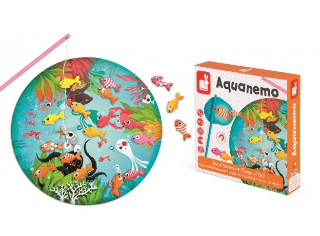 Настольная магнитная игра Janod «Рыбалка», фото