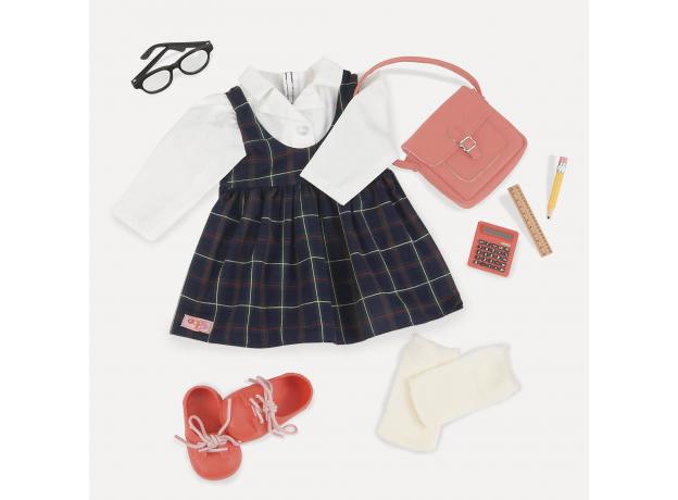 Комплект одежды для куклы Our Generation ДеЛюкс для школьницы, фото