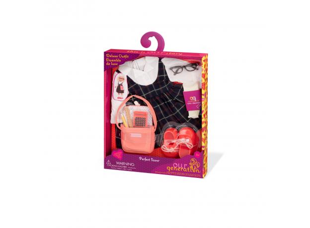 Комплект одежды для куклы Our Generation ДеЛюкс для школьницы, фото , изображение 2