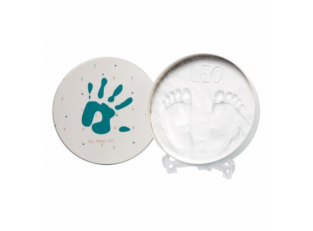 Коробочка для создания отпечатка Baby Art «Мэджик бокс» круглая, фото