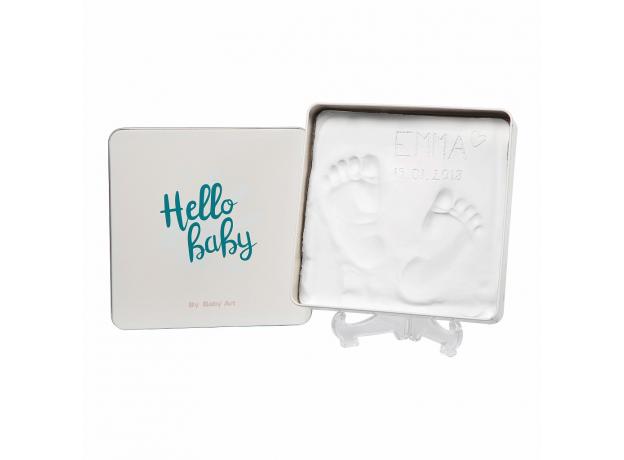 Коробочка для создания отпечатка Baby Art «Мэджик бокс» квадратная, фото