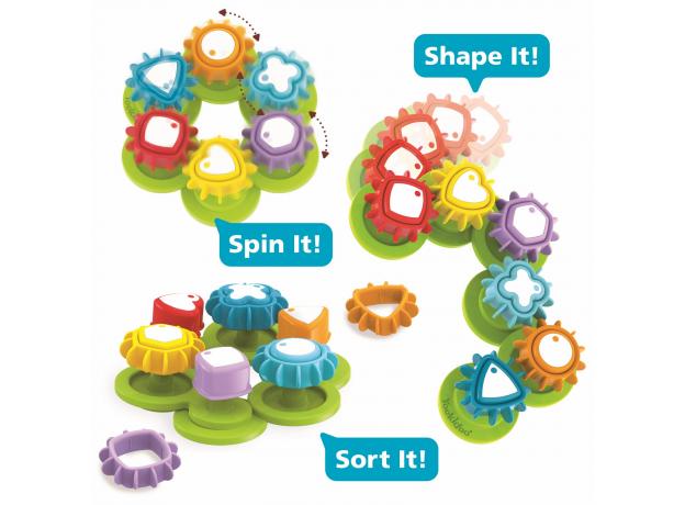 Развивающая игрушка сортер Yookidoo «Формы и цвета», фото , изображение 3