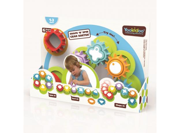 Развивающая игрушка сортер Yookidoo «Формы и цвета», фото , изображение 5