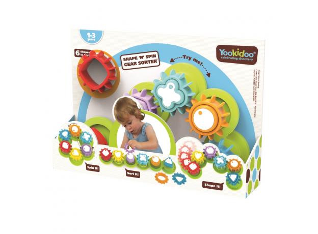 Развивающая игрушка сортер Yookidoo «Формы и цвета», фото , изображение 6