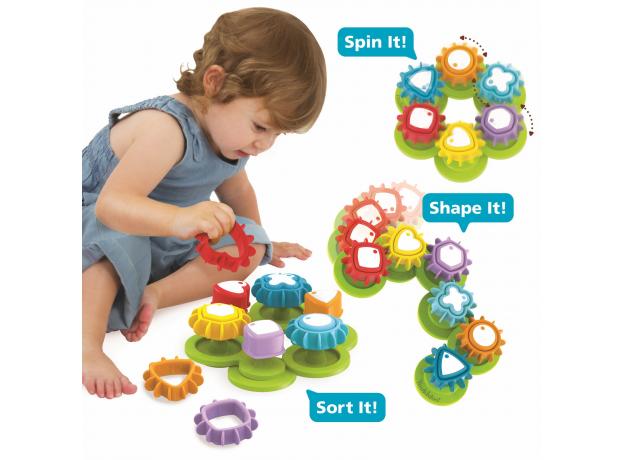 Развивающая игрушка сортер Yookidoo «Формы и цвета», фото , изображение 7