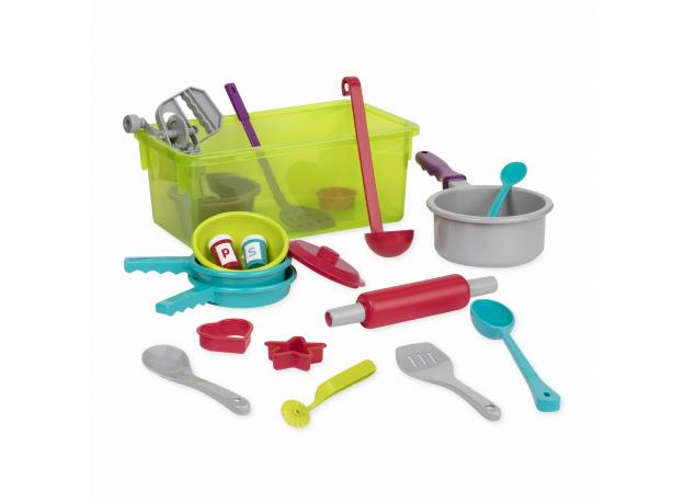 Набор игрушечной посуды Battat для готовки, фото , изображение 2