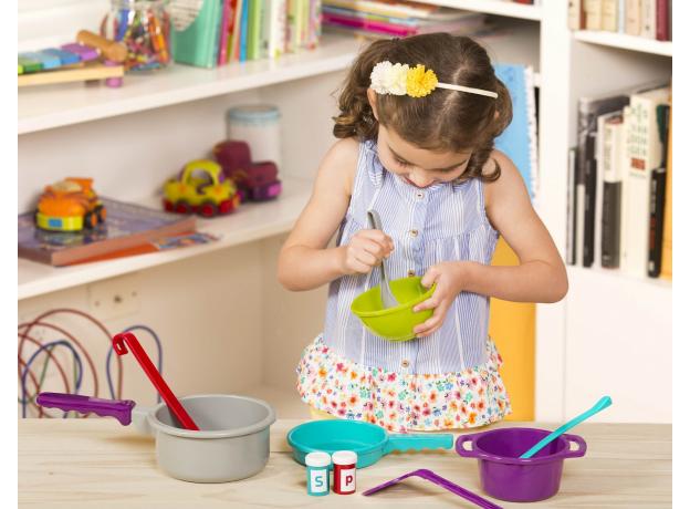 Набор игрушечной посуды Battat для готовки, фото