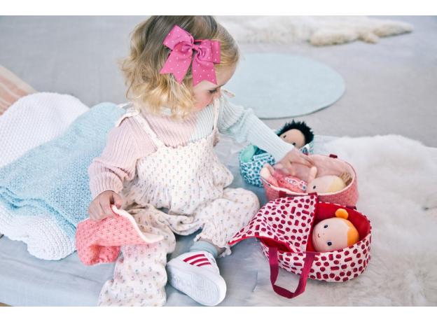 Кукла мягкая в переноске Lilliputiens «Агата», фото , изображение 4