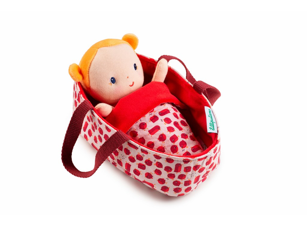 Кукла мягкая в переноске Lilliputiens «Агата», фото