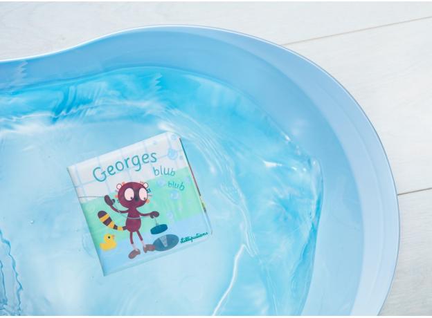 Книжка для ванны Lilliputiens «Лемур Джордж», фото , изображение 4