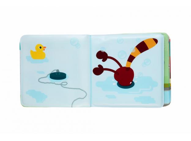 Книжка для ванны Lilliputiens «Лемур Джордж», фото , изображение 5